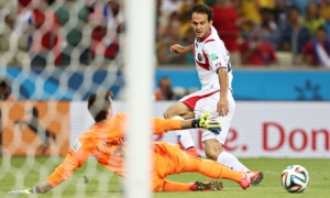 Urena's Goal, From The Guardian