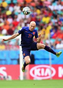 Arjen Robben at Another time in the Match, From O Canada