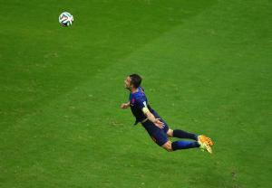 Van Persie's Goal vs Spain, From O Canada