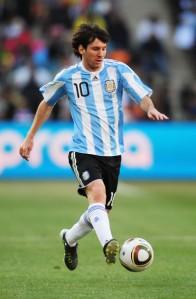 Messi, From Zimbio