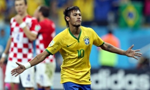 Neymar After Penalty Goal, From The Guardian
